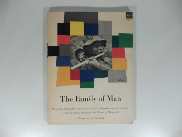 The family of man. The family photographic exibition of all time...