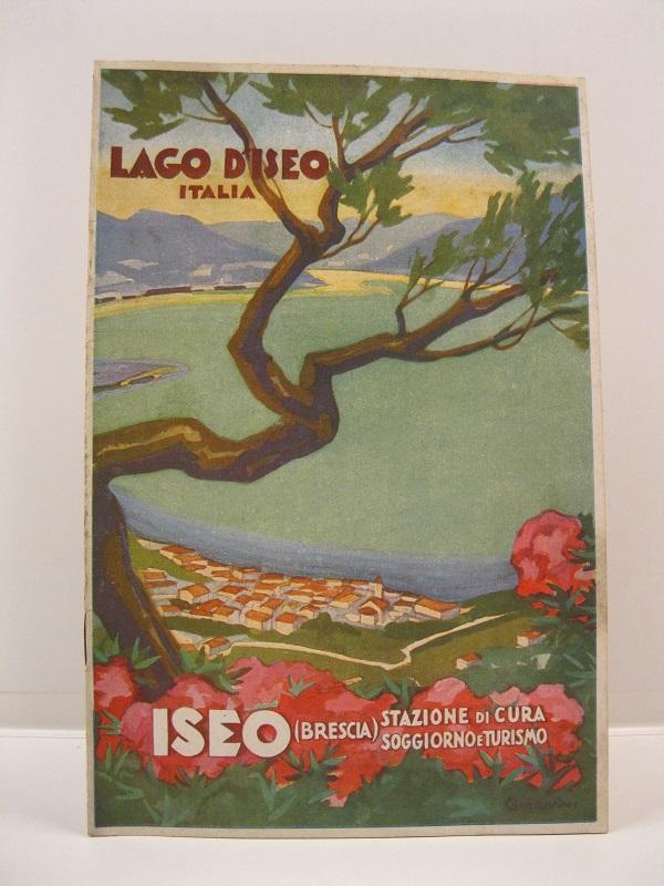 Lago d\'Iseo. Italia. Iseo (Brescia). Stazione di cura, soggiorno e ...
