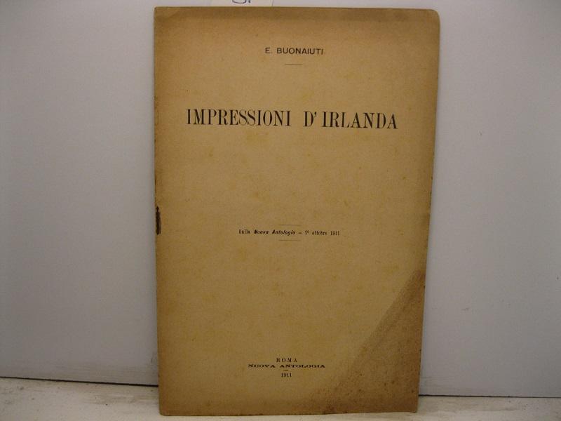 Impressioni d'Irlanda. Dalla Nuova Antologia - 1° ottobre 1911