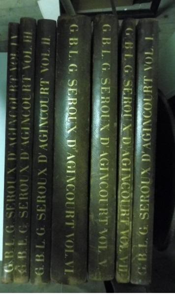 Storia dell'arte col mezzo dei monumenti dalla sua decadenza nel IV secolo fino al suo Risorgimento nel XVI. Vol. I (-VII)