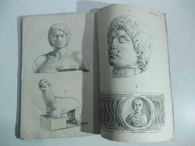 Delle antichità di Vado. Al Rev. Cav. Cesare Queirolo arciprete di Vado