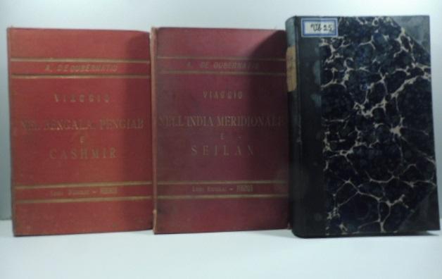 Peregrinazioni indiane. India Centrale; India meridionale e Seilan; Bengala, Pengiab e Cashmir