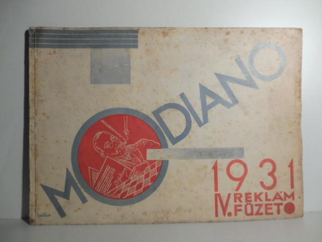 Modiano. 1931. IV reklam fuzeto