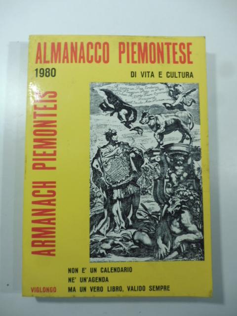 Almanacco Piemontese di vita e cultura 1980