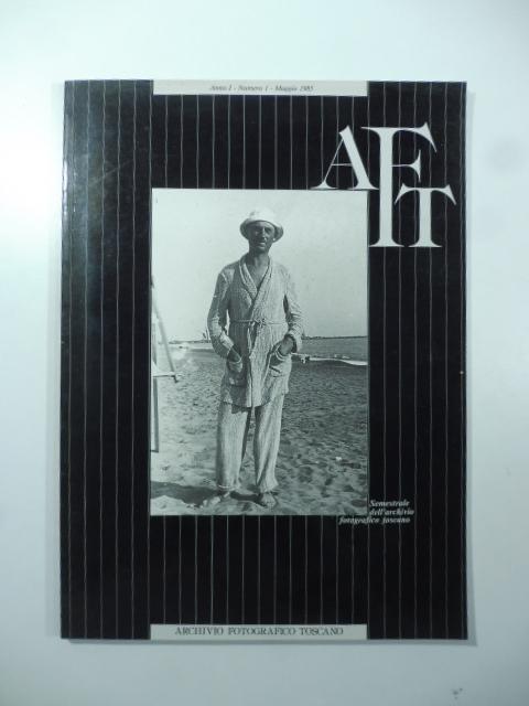 Semestrale dell'Archivio fotografico toscano, numero 1, maggio 1985