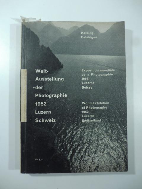 Exposition mondiale de la Photographie 1952, Lucerne, Suisse