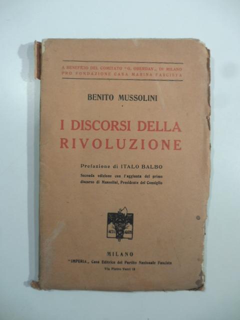 I discorsi della rivoluzione