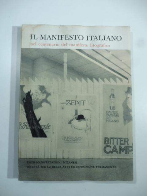 Il manifesto italiano nel centenario del manifesto litografico