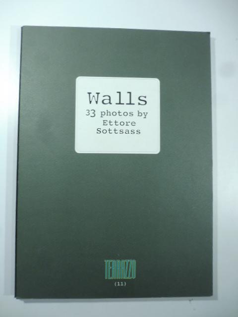 Walls. 33 photos by Ettore Sottsass. Terrazzo (11)